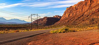 Photograph - Moab Landscape by Jonathan Gewirtz