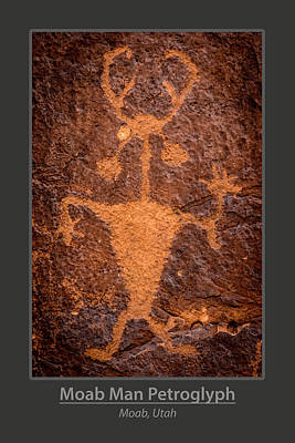 Photograph - Moab Man Poster by Gary Whitton