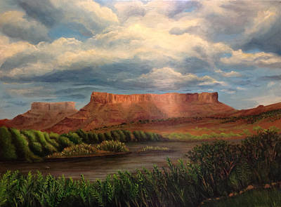 Wall Art - Painting - Moab by Melinda Zielfelder