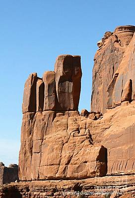Photograph - Moab Rocks by Carole Martinez