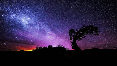Lit Photograph - Moab Skies by Chad Dutson
