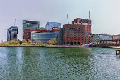Photograph - Moakley Federal Courthouse by Brian MacLean