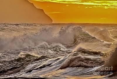 Seascape Photograph - Moana Nalu Collection #5 by Debra Banks