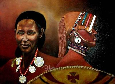 Moanamaasai Art Print by G Cuffia