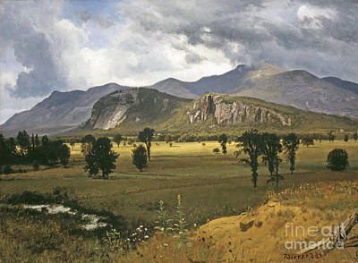 Albert Painting - Moat Mountain by MotionAge Designs