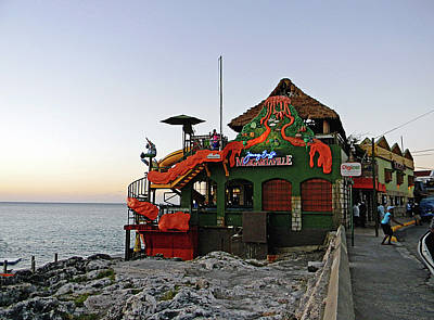 Photograph - Mobay Margaritaville by Debbie Oppermann