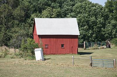 Photograph - Moberly Farm by Anthony Cornett