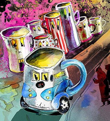 Painting - Mobile Mug by Miki De Goodaboom
