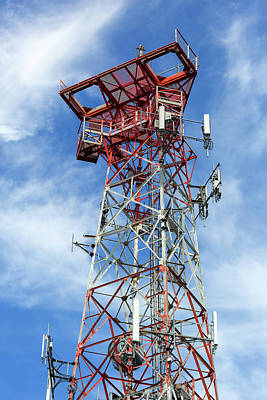 Photograph - Mobile Phone Cellular Tower by David Gn