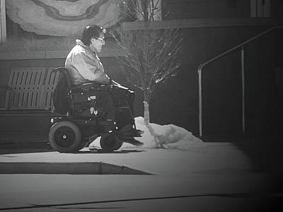 Disability Digital Art - Mobility by Lenore Senior