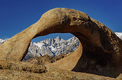 Garden Tools - Mobius Arch Alabama Hills by Mike Penney