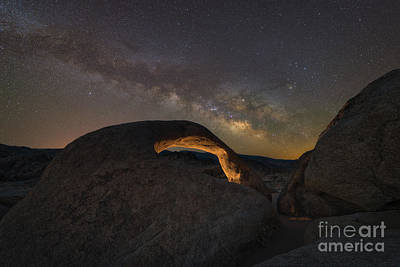 Photograph - Mobius Arch Milky Way Rising  by Michael Ver Sprill