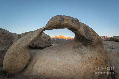 Photograph - Mobius Arch Sunrise  by Michael Ver Sprill