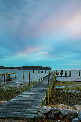 Photograph - Mobjack Bay Dock by Jean Haynes