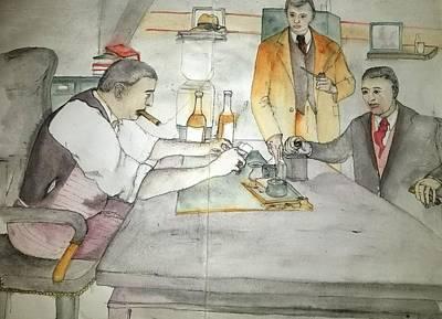 Painting - Mobs Prohibition Immigratnts  Album by Debbi Saccomanno Chan