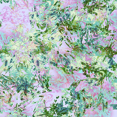 Mixed Media - Mock Floral Darma by Kristin Doner