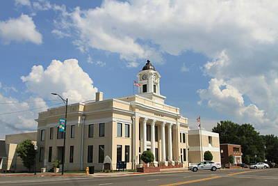 Photograph - Mocksville Courthouse by Karen Ruhl