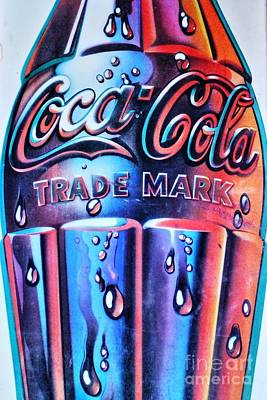 Photograph - Mod Coca Cola Bottle by Natalie Ortiz