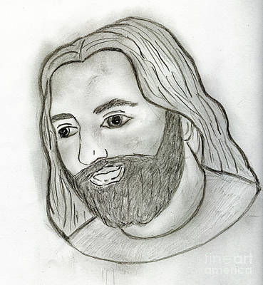 Mod Jesus Art Print by Sonya Chalmers