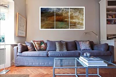 Photograph - Mod Living Room 1 by Patricia Strand