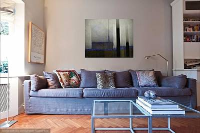 Photograph - Mod Living Room 2 by Patricia Strand