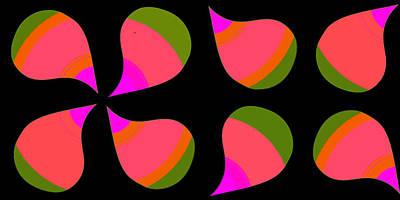 Update Digital Art - Mod Paisley In Fiesta by Lisa Schneider