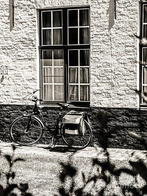 Photograph - Mode Of Transport In Bruges by Lexa Harpell