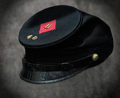 Photograph - Model 1858 Forage Cap by Dave Mills
