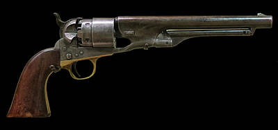 Photograph - Model 1860 Colt Revolver by Dave Mills