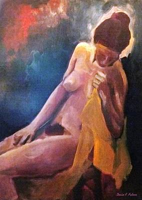 Painting - Model 3 by Denise F Fulmer