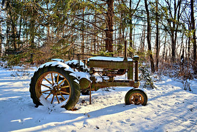 Photograph - Model A Deere 2 by Bonfire Photography