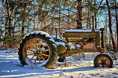 Photograph - Model A Deere by Bonfire Photography