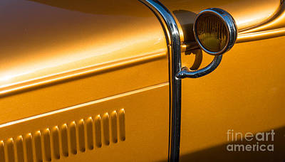 Photograph - Model A Ford 1930 Detail  by Colin Rayner