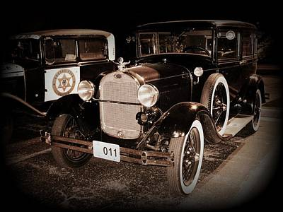 Photograph - Model A Ford Sedan by David Dunham