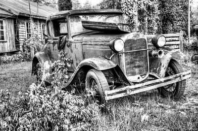 Photograph - Model A by JC Findley