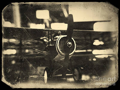 Tin Planes Photograph - Model Airplane by A Cappellari