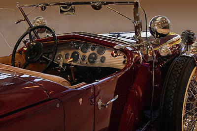 Photograph - Model J Lebaron Dual Cowl Phaeton by Bill Dutting