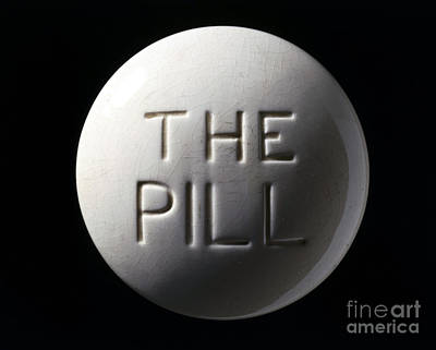 Oral Sex Photograph - Model Of Contraceptive Pill, C.1970 by Wellcome Images