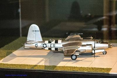 Photograph - Model Of Planes by Nance Larson