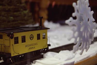 Photograph - Model Scale Train Pennsylvania  by Toni Hopper