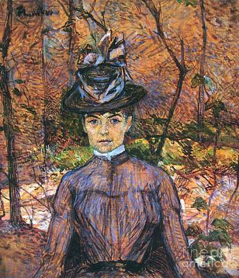 Model Suzanne Valadon 1884 Art Print by Padre Art