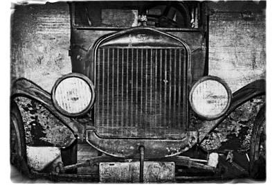 Model T 1924 Art Print