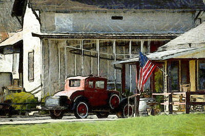 Photograph - Model T Ford Country Store 2 by Floyd Snyder