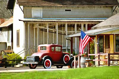 Photograph - Model T Ford Country Store by Floyd Snyder