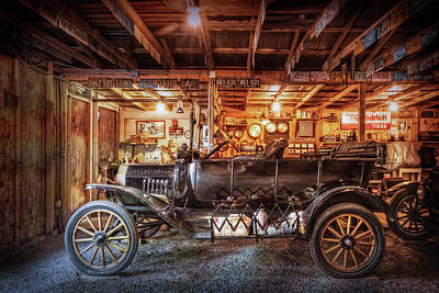 Photograph - Model T Ford by Debra and Dave Vanderlaan
