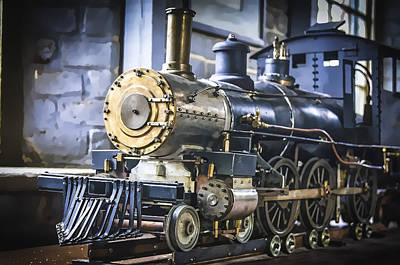 Photograph - Model Train by Scott Hansen