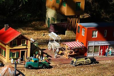 Photograph - Model Village 1 by Kathryn Meyer
