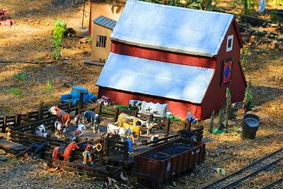 Photograph - Model Village 2 by Kathryn Meyer