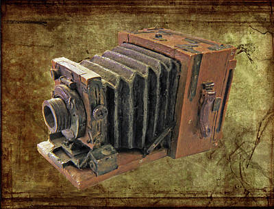 Model Vintage Field Camera Art Print by Kenneth William Caleno