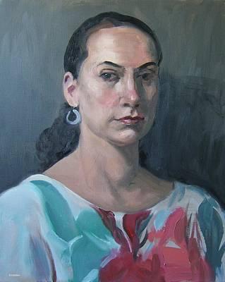 Painting - A Level Gaze by Robert Holden